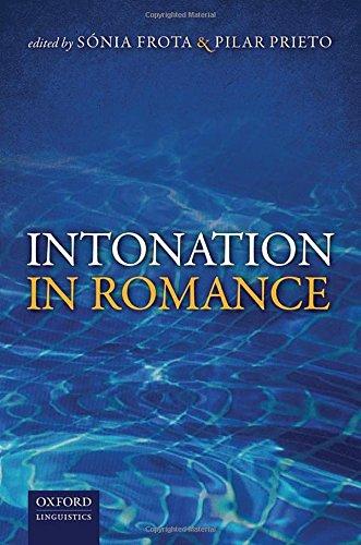 9780199685332: Intonation in Romance