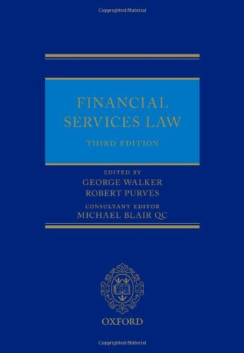 9780199685592: Financial Services Law
