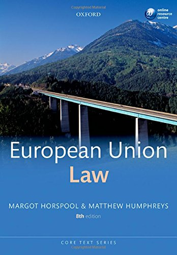 9780199685615: European Union Law (Core Texts Series)
