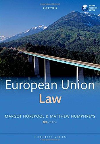 9780199685615: European Union Law