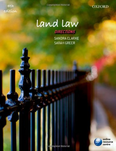 9780199685646: Land Law Directions (Directions series)