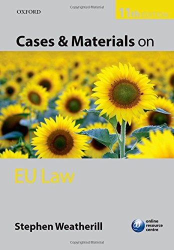 9780199685660: Cases and Materials on EU Law