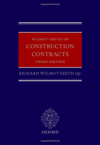 9780199685882: Wilmot-Smith on Construction Contracts