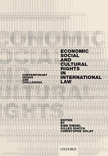 9780199685974: Economic, Social, and Cultural Rights in International Law: Contemporary Issues and Challenges