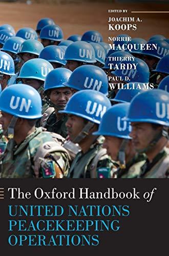 9780199686049: The Oxford Handbook of United Nations Peacekeeping Operations (Oxford Handbooks)