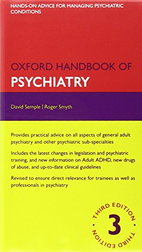 9780199686247: Oxford Handbook of Psychiatry 3e and Drugs in Psychiatry 2e Pack