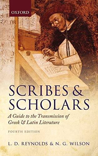 9780199686339: Scribes and Scholars: A Guide to the Transmission of Greek and Latin Literature