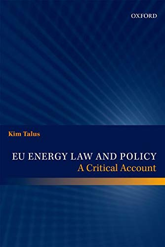 9780199686391: EU Energy Law and Policy: A Critical Account