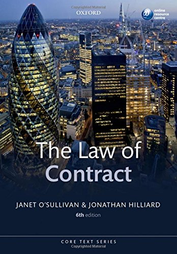 9780199686933: The Law of Contract (Core Text)