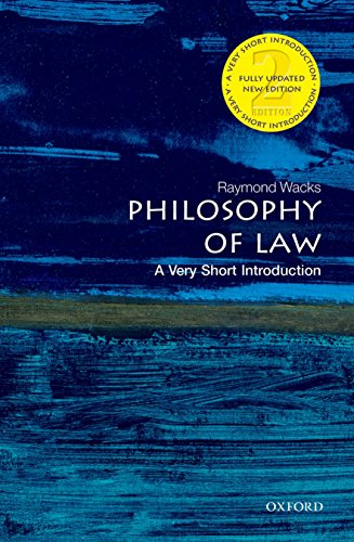 9780199687008: Philosophy of Law: A Very Short Introduction (Very Short Introductions)
