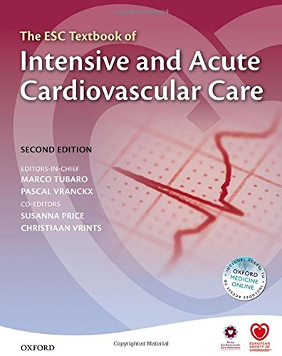 9780199687039: The ESC Textbook of Intensive and Acute Cardiovascular Care (The European Society of Cardiology Textbooks)