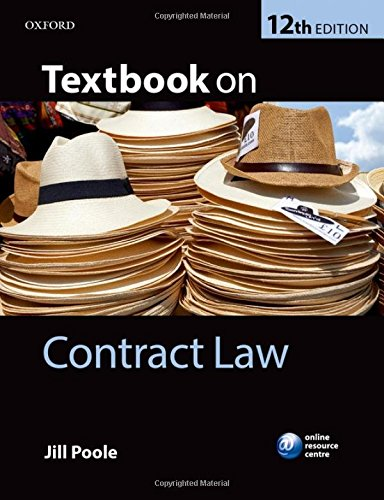 9780199687220: Textbook on Contract Law
