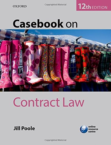 9780199687237: Casebook on Contract Law