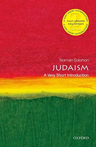 judaism a very short introduction 2e very short