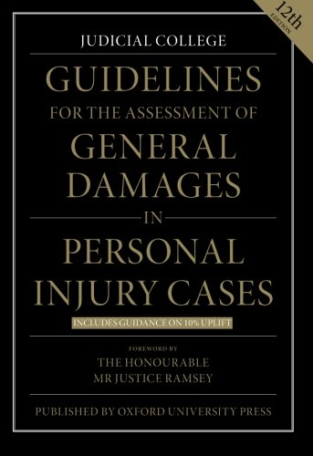 9780199687824: Guidelines for the Assessment of General Damages in Personal Injury Cases