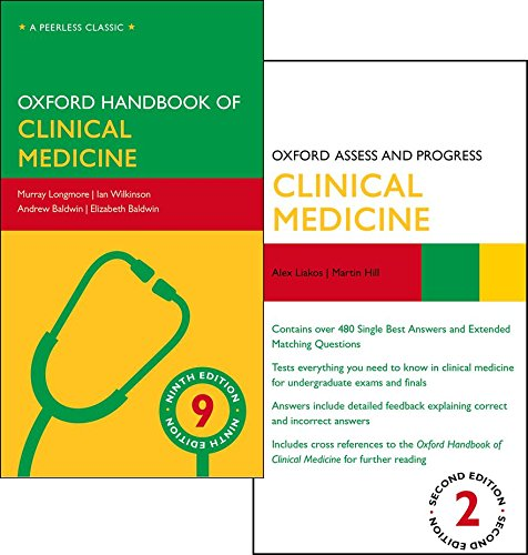 9780199688128: Oxford Handbook of Clinical Medicine and Oxford Assess and Progress: Clinical Medicine Pack
