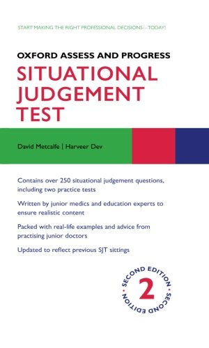 9780199688159: Situational Judgement Test (Oxford Assess and Progress)
