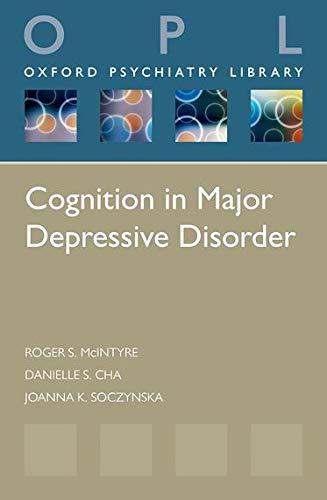 9780199688807: Cognition in Major Depressive Disorder