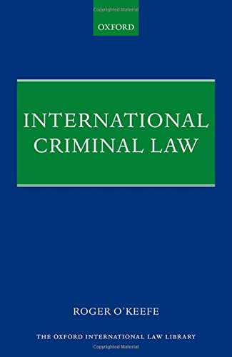 9780199689040: International Criminal Law (Oxford International Law Library)