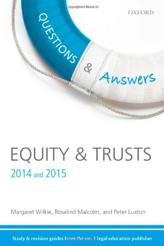 9780199689200: Equity & Trusts Q&A 2014 & 2015 (Questions & Answers (Oxford))