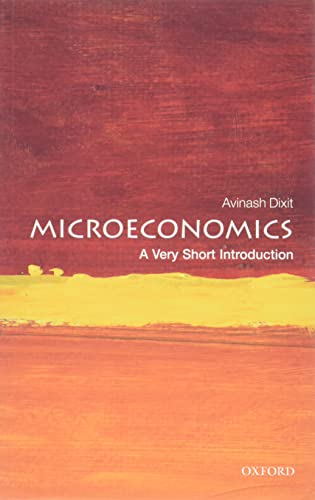 9780199689378: Microeconomics: A Very Short Introduction (Very Short Introductions)