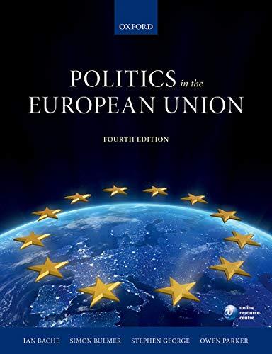 9780199689668: Politics in the European Union