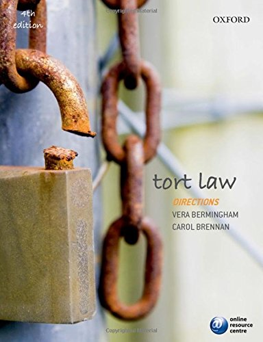 9780199689897: Tort Law Directions (Directions Series)
