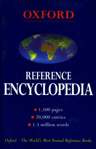 Oxford Reference Encyclopedia: n/a