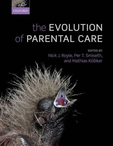 9780199692583: The Evolution of Parental Care