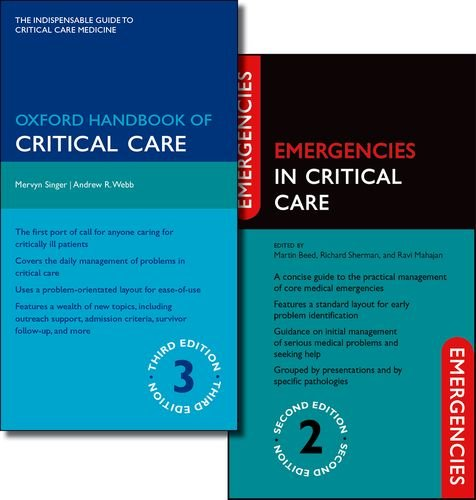 9780199692804: Oxford Handbook of Critical Care Third Edition and Emergencies in Critical Care Second Edition Pack