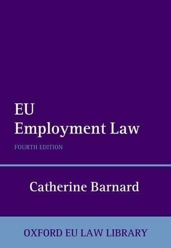 9780199692910: EU Employment Law