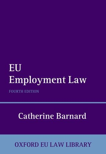 9780199692910: EU Employment Law
