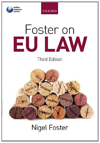 9780199692965: Foster on EU Law