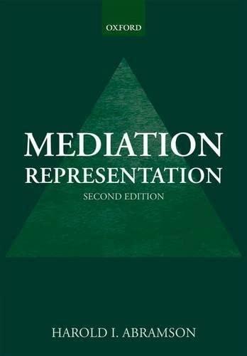 9780199693122: Mediation Representation