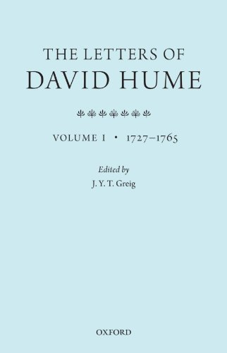 The Letters of David Hume. Volume 1.: GREIG, J. Y. T.,