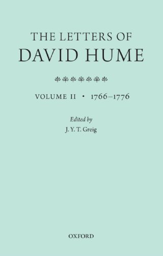 9780199693252: The Letters of David Hume: Volume 2