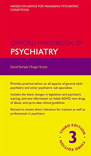 9780199693887: Oxford Handbook of Psychiatry (Oxford Medical Handbooks)