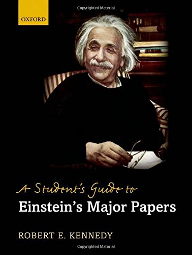 9780199694037: A Student's Guide to Einstein's Major Papers