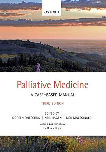 9780199694143: Palliative Medicine: A case-based manual