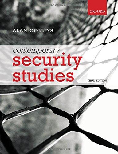 9780199694778: Contemporary Security Studies