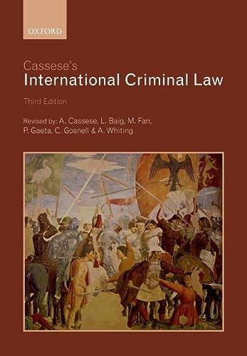 9780199694921: Cassese's International Criminal Law