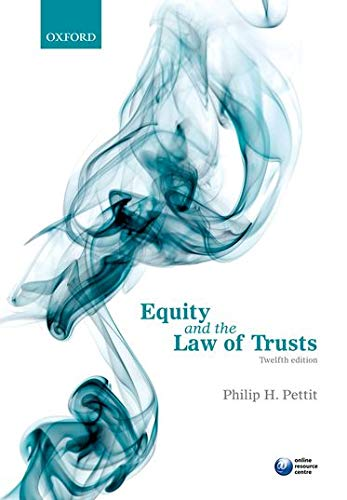 9780199694952: Equity and the Law of Trusts