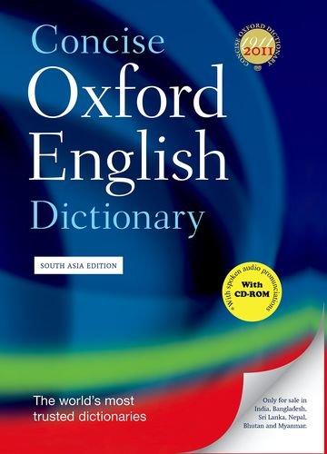 CONCISE OXFORD ENGLISH DICTIONARY 12E: BOOK &: OXFORD DICTIONARIES