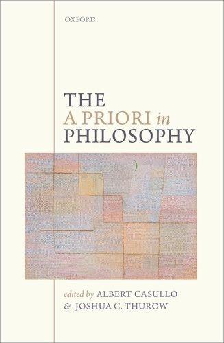 9780199695331: The A Priori in Philosophy