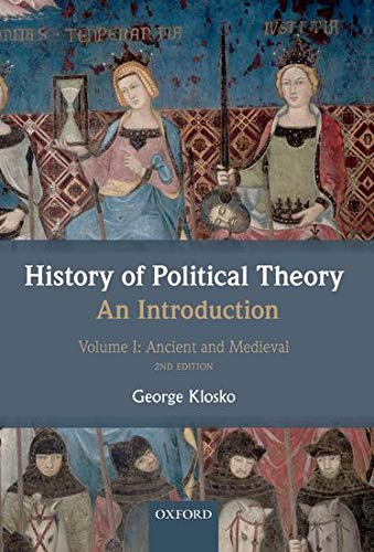 9780199695416: History of Political Theory: An Introduction: Volume I: Ancient and Medieval
