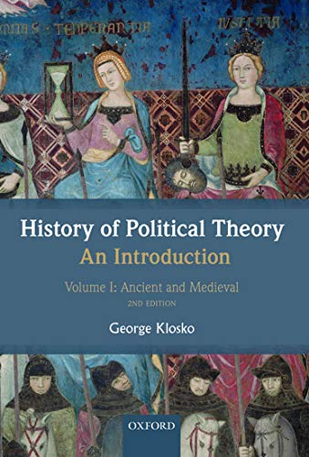 9780199695423: 1: History of Political Theory: An Introduction: Volume I: Ancient and Medieval