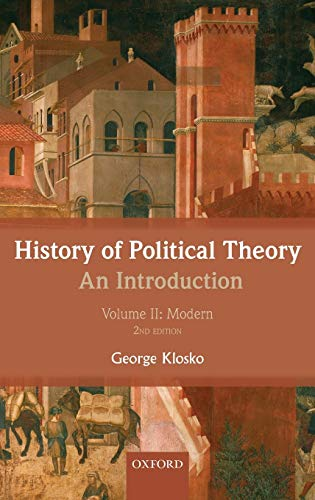 9780199695447: 2: History of Political Theory: An Introduction: Volume II: Modern