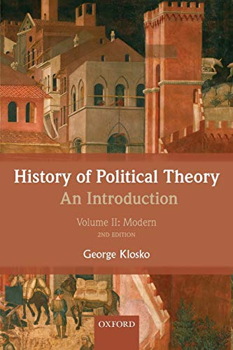 9780199695454: 2: History of Political Theory: An Introduction: Volume II: Modern (Volume 2)