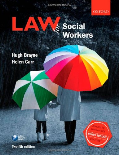 9780199696406: Law for Social Workers