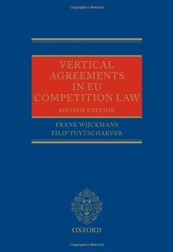 9780199696413: Vertical Agreements in EU Competition Law